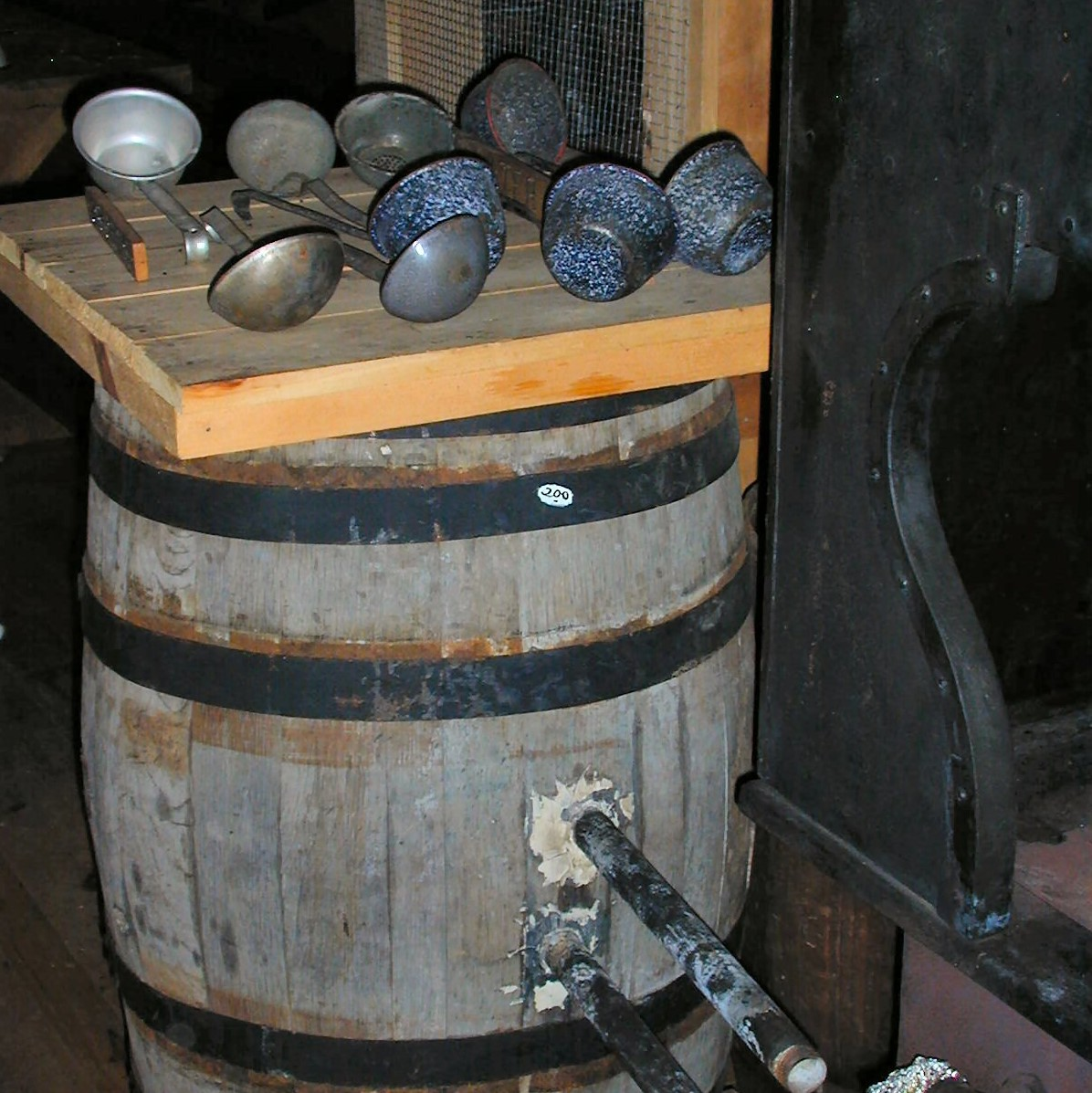 Hot Water Barrel