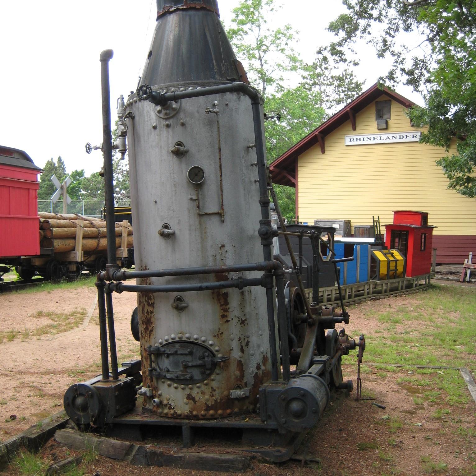 Boiler for Donkey